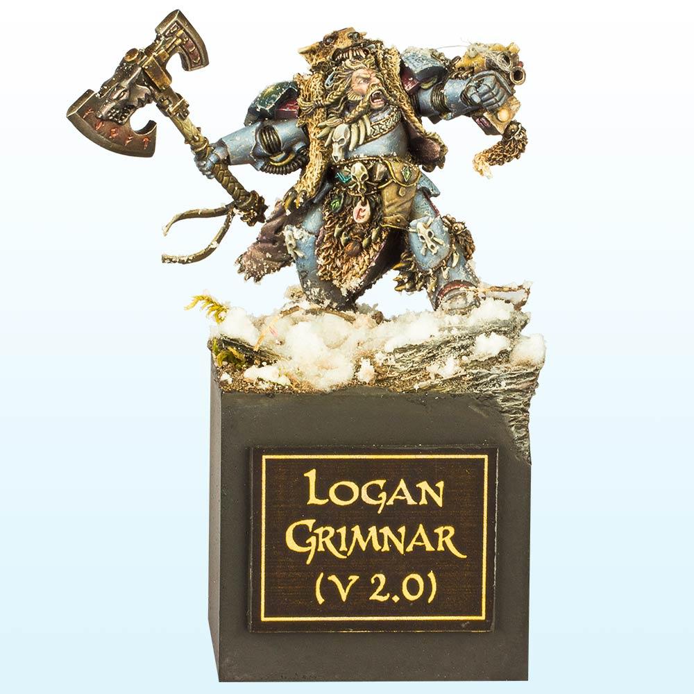 Warhammer 40,000 Single Miniature: Bronze –2013