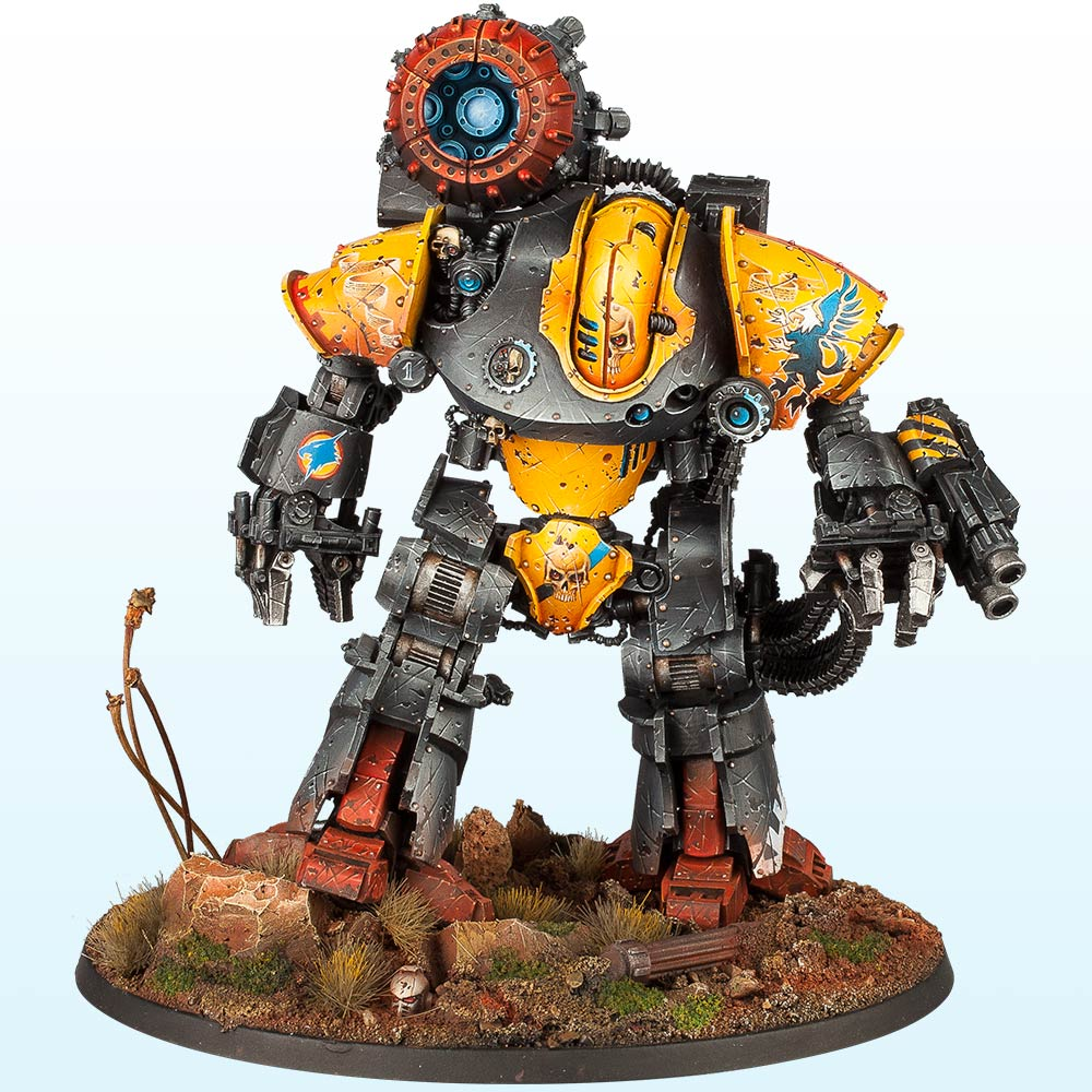 Warhammer 40,000 Vehicle: Gold, Slayer Sword & Forge World Best in Show – 2014
