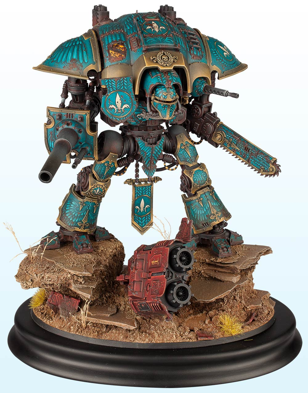 Warhammer 40,000 Vehicle: Silver – 2014