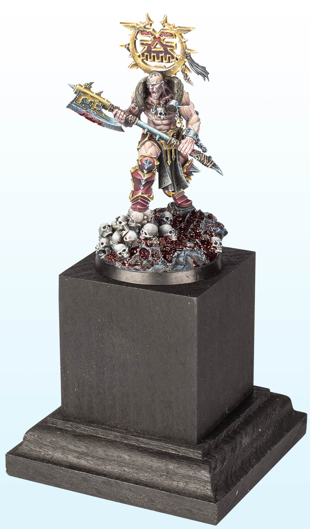 Warhammer Age of Sigmar Single Miniature : Bronze – 2016