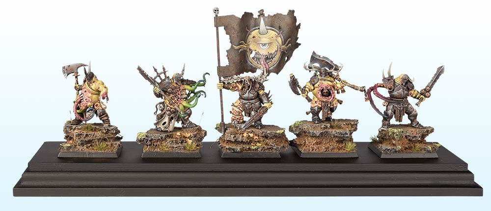 Warhammer Age of Sigmar Regiment : Bronze – 2016