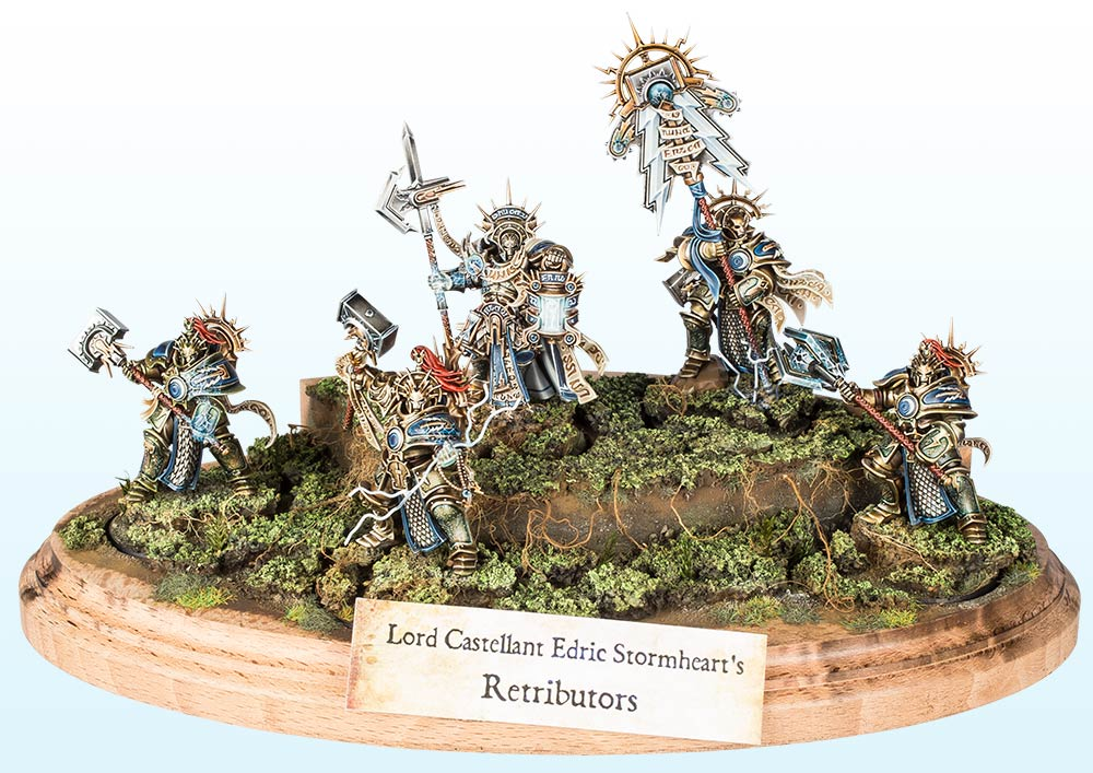 Warhammer Age of Sigmar Regiment : Silver – 2016