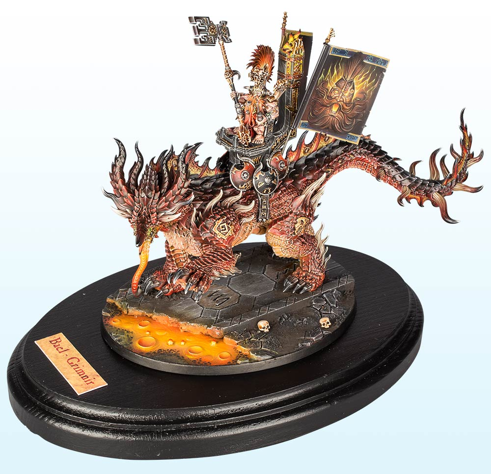 Warhammer Age of Sigmar Large Model : Gold – 2016