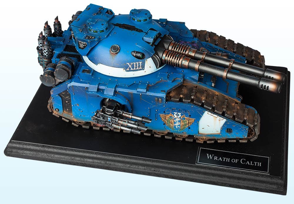 Vehicle: Gold & Slayer Sword – The Horus Heresy 2016