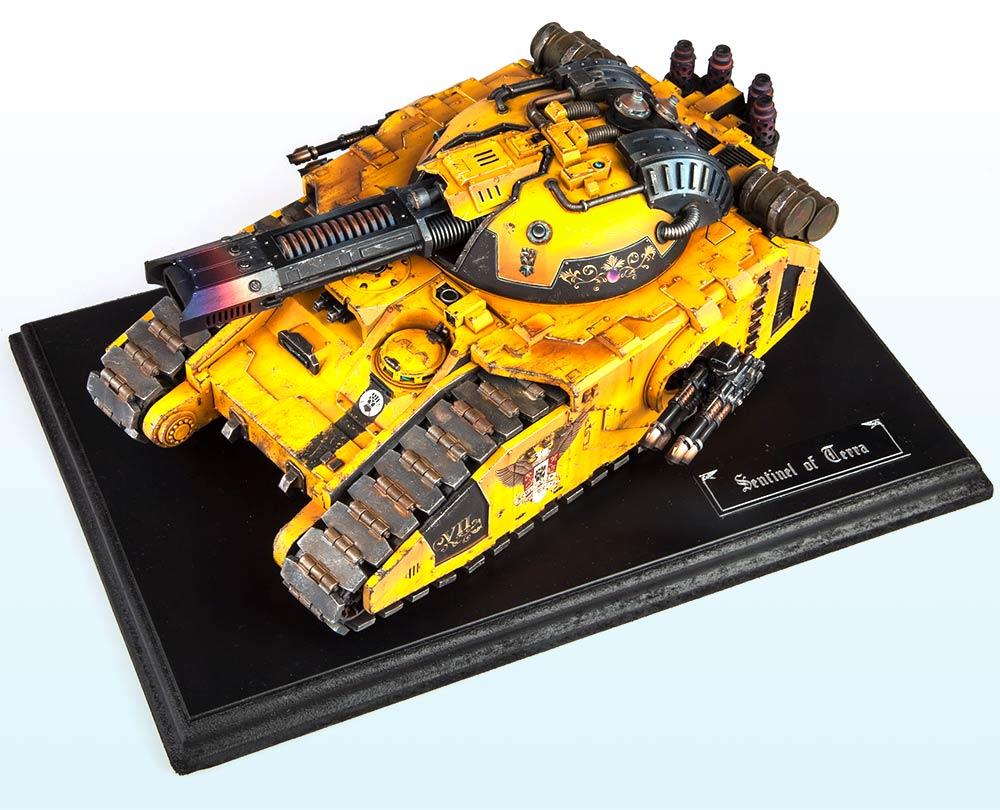 SingleTank: Bronze – Warhammer 40,000 Tanks2015