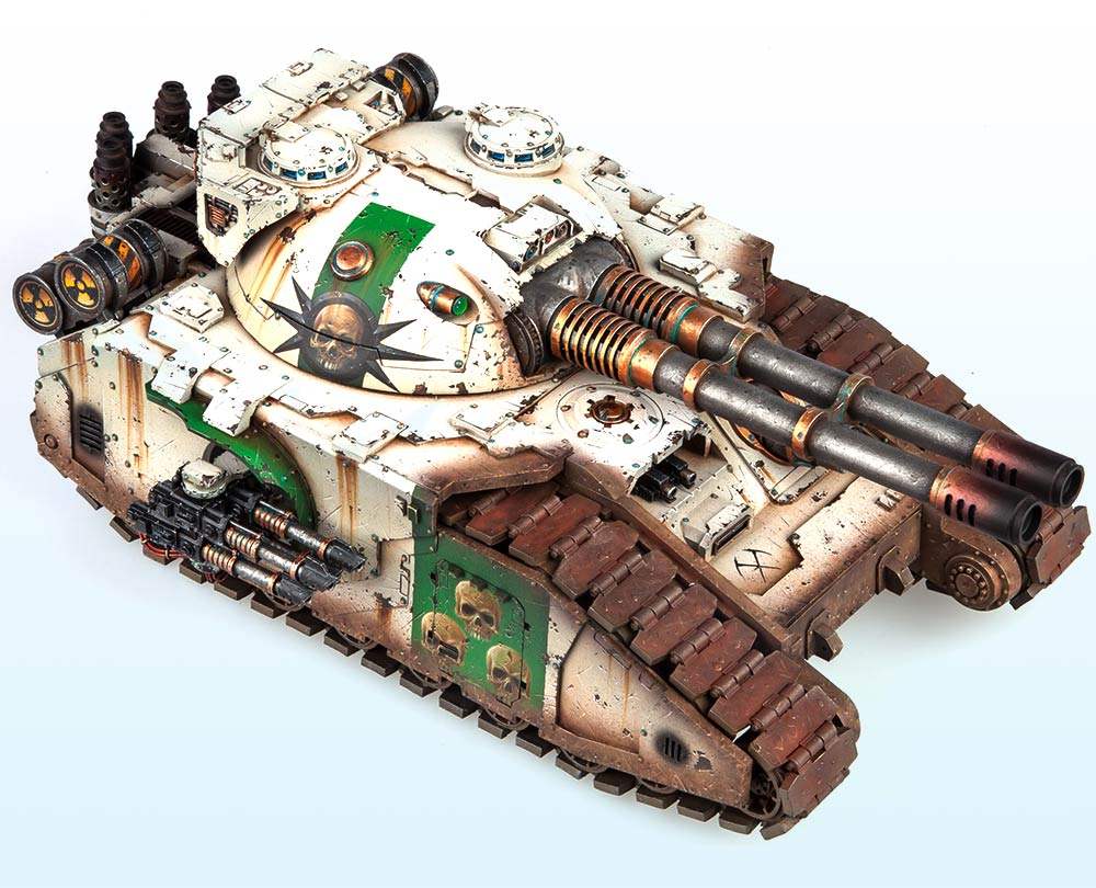 Single Tank: Gold & Slayer Sword Winner – Warhammer 40,000 Tanks 2015