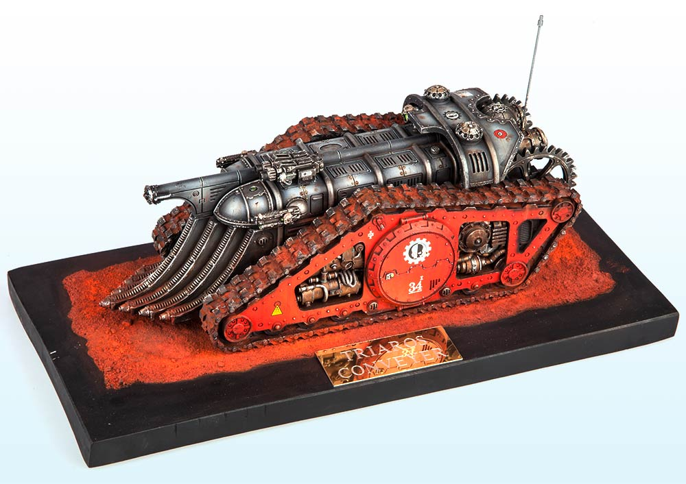 Single Tank: Silver – Warhammer 40,000 Tanks 2015