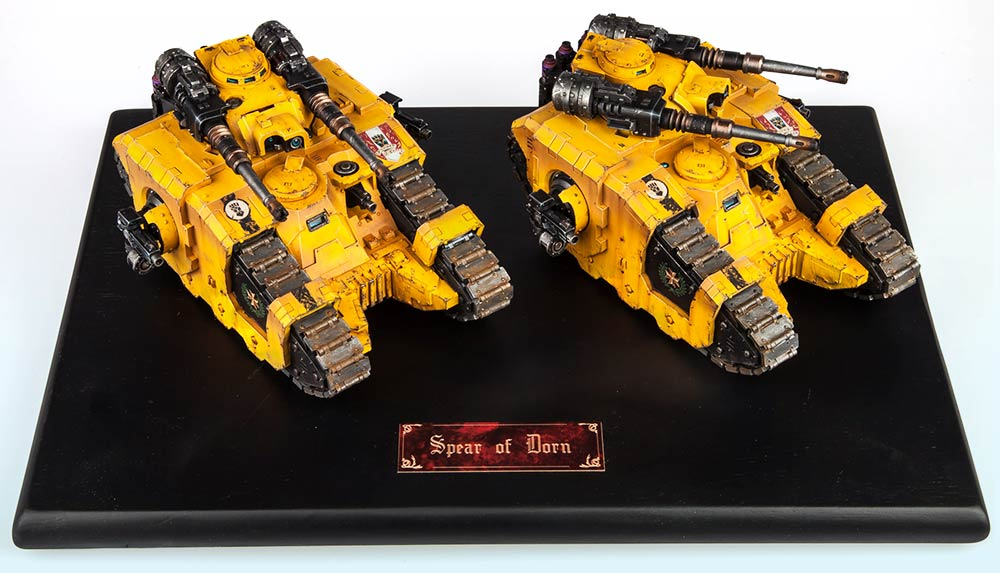 Tank Squadron: Bronze – Warhammer 40,000 Tanks2015
