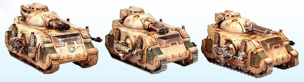 Tank Squadron: Silver – Warhammer 40,000 Tanks2015