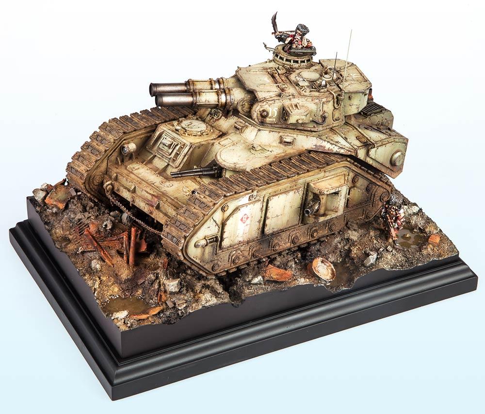 Unbound: Bronze – Warhammer 40,000 Tanks2015