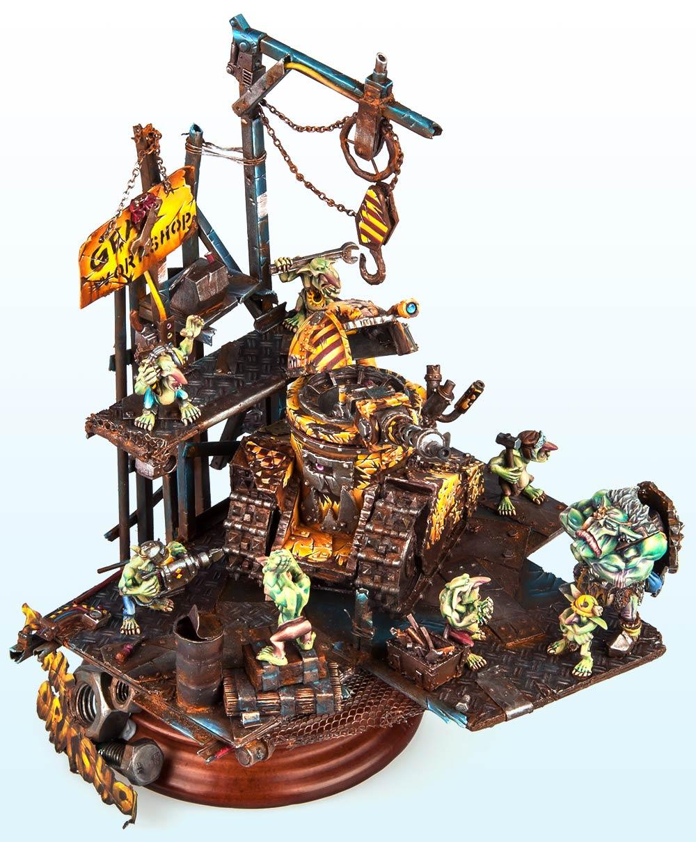 Unbound: Gold – Warhammer 40,000 Tanks2015