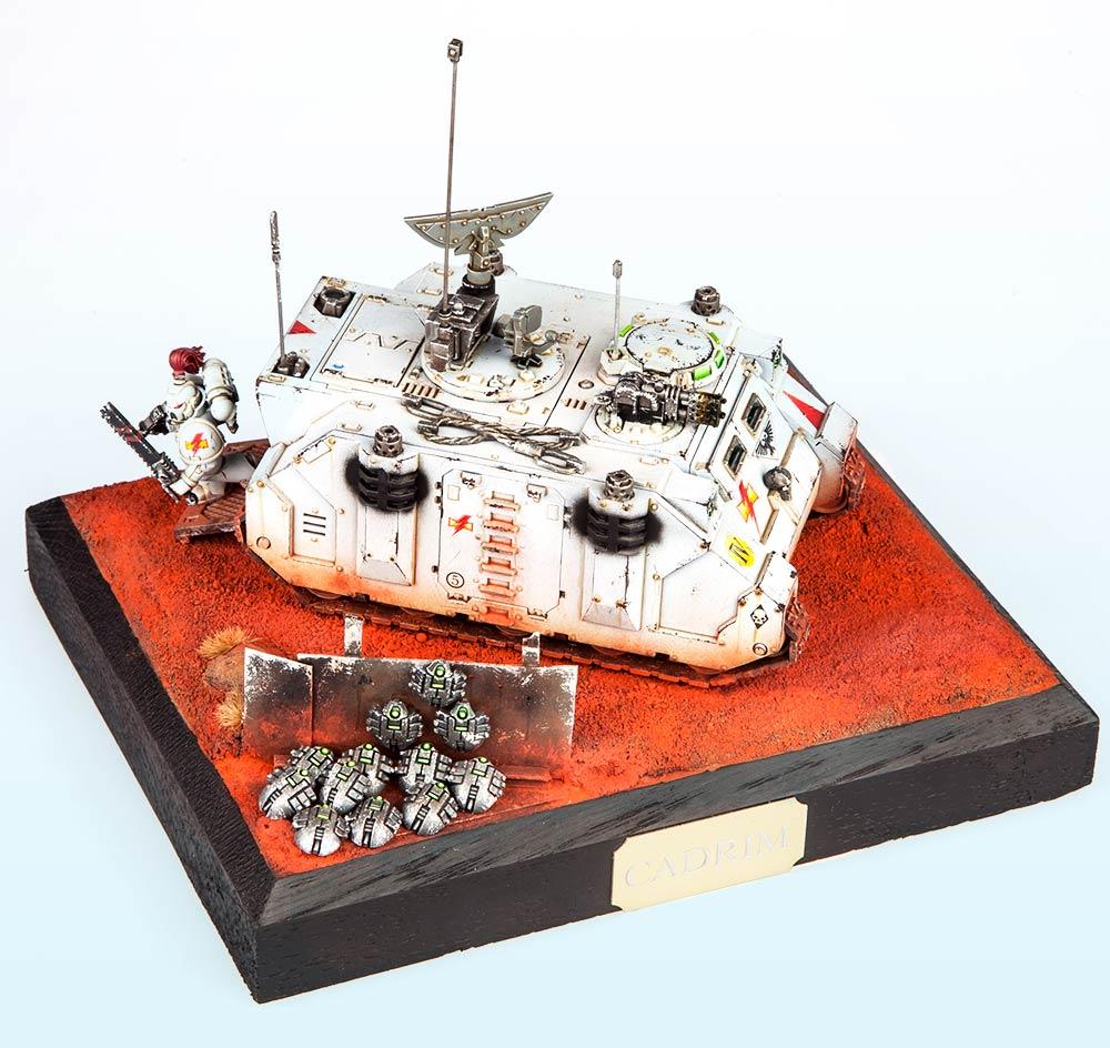 Unbound: Silver – Warhammer 40,000 Tanks2015